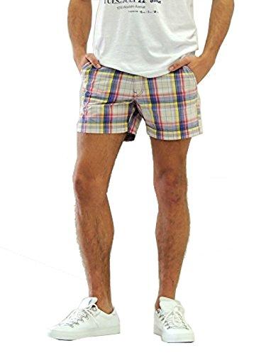 Napapijri Nobley Fancy bermuda uomo pantaloni corti N0Y53A (33, C38 CHECK)