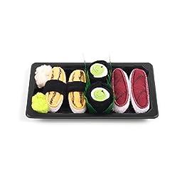 Sushi Socks Box Baby 3 pairs Tuna Maki Cucumber Tamago 0-12 months