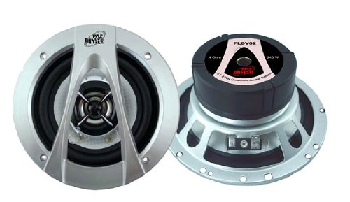 Pyle PLDV62 6.5-Inch 240 Watt Two-Way Speaker