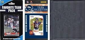 NFL Denver Broncos Licensed 2010 Score Team Set and Favorite Player Trading Card Pack... by C&I Collectables