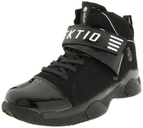 Ektio Men's Wraptor All Purpose Anti Sprain Basketball Shoe,Black/White,11.5 M US