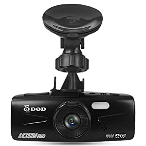 DOD LS300W Car Dashboard Camera Full HD 1080p Advanced WDR Super Night Vision 2.7 Inch LCD 140 Degree Lens G-sensor Motion Detection