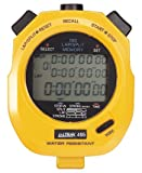 ULTRAK 495 Professional Stopwatches - 100 Lap Memory - Yellow