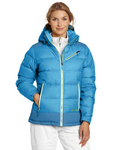 Marmot Women's Sling Shot Jacket, Blue Sea/Mosaic Blue, Medium