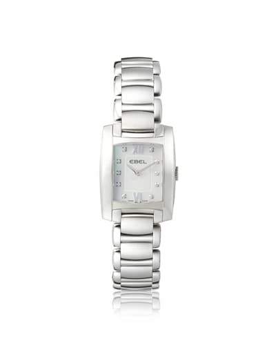 Ebel Women's 1215605 Brasilia White Stainless Steel Watch