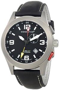 Momentum Men's 1M-SP58B2B Vortech Analog GMT Function Alarm Watch