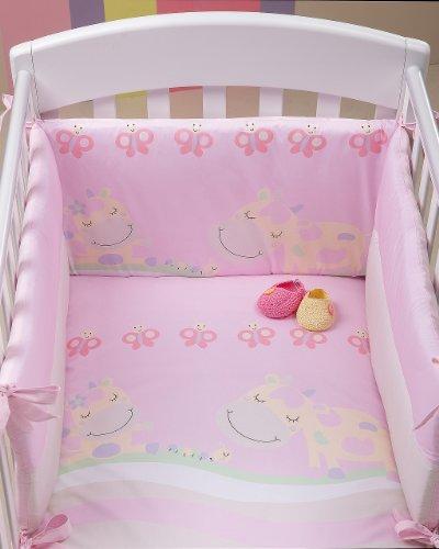 Piumone letto 3 pezzi Picci Lola rosa
