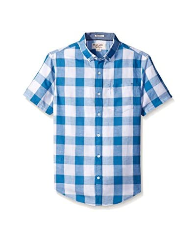 Original Penguin Men's Nep Check Short Sleeve Shirt