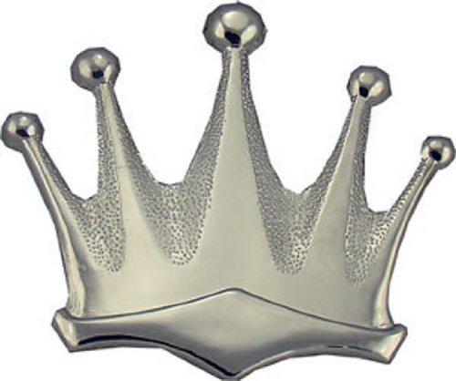 Silver Royal Crown Belt Buckle King Queen
