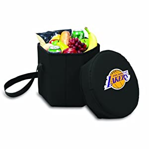 NBA Los Angeles Lakers Bongo Insulated Collapsible Cooler by Picnic Time