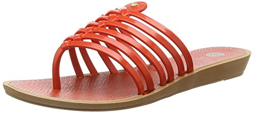 Grendha Strings Thong - Sandali donna, colore Arancione (Coral), taglia 40 EU
