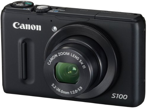 Canon  PowerShot S100  PSS100(BK) 1210 24mm 5 3.0TFT