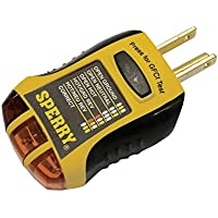 Sperry GFI6302 GFCI Outlet Tester