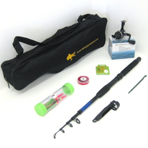 FTD Kids Complete Fishing Set - Rod / Reel / Tackle / Bag - Ideal Starter Holiday Pack