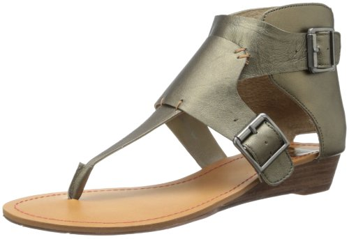 Bronze Wedge Sandals front-1026021
