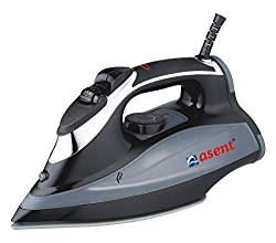 Asent HA2201E 2200W Steam Iron with Spray and Ceramic Coated Alloy Sole Plate