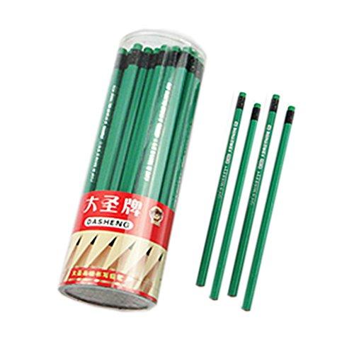 lot-de-2-crayons-hb-avec-des-crayons-gommes-bois-tube-vert-fonce