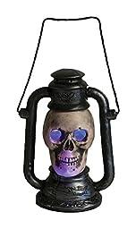 Light Up Bone Skull Lamp (As Shown)