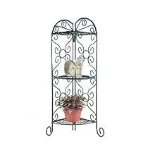Metal Corner Gifts & Decor Plant Stand Display Shelf Unit