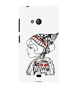 Ebby Premium Printed Mobile Back Case Cover With Full protection For Nokia Lumia 540/Microsoft Lumia 540 (Designer Case)