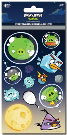Angry Birds Space Standard Stickers