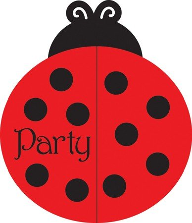 Learn More About Creative Converting Ladybug Fancy Party Invitations, 25 Count