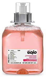 GOJO FMX Refill, 5161-03 - Pink Cranberry Scented Antibacterial Handwash (1250 mL) - 3 Pack