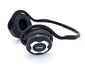 Vaas Audio Foldable Bluetooth Stereo Headphones - Supports Hands Free Calling and Wireless Music Streaming