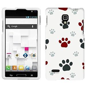 LG Optimus L9 Paw Print Clip Art Hard Case Phone Cover