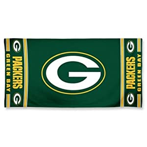 NFL Green Bay Packers 30 x 60 Logo Beach Towel - Green by WinCraft