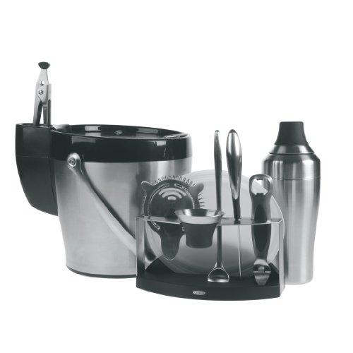 Oxo Steel 11-Piece Barware Set