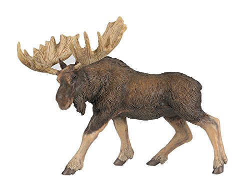 Papo Standing North American Moose Toy Figure - 1