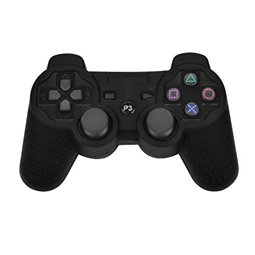 iProtect-PlayStation-3-Wireless-Dualshock-Controller-in-schwarz-mini-USB-Ladekabel-Schutzhllen