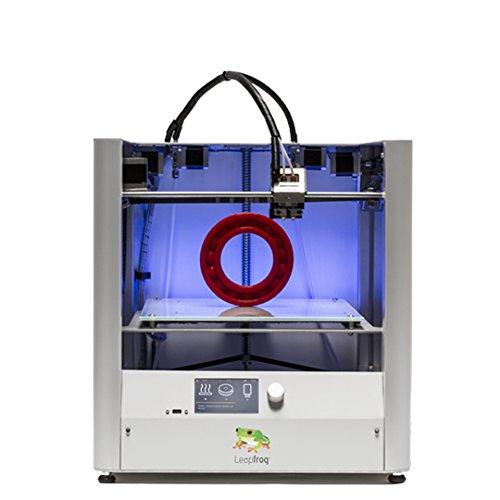 "Leapfrog Creatr HS 3D Printer, Dual Extruder, 11.8"" x 9"" x 7"" Build Volume"