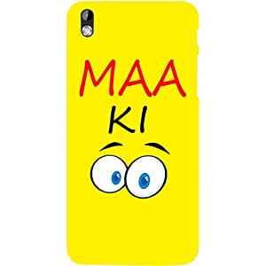 Casotec Funny Quotes Design Hard Back Case Cover for HTC Desire 816