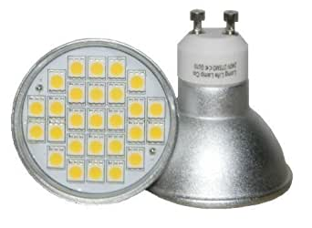 Dimmable GU10 27 SMD 5W LED Super Bright 50w Replacement for Halogen bulb fitted with New Chip Technology