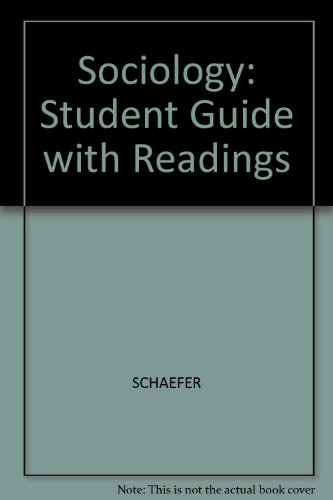 Sociology: Student Guide with Readings PDF