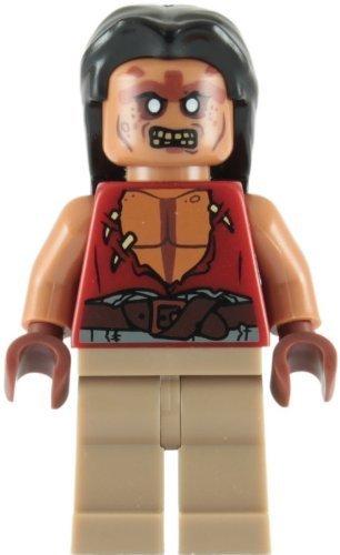 LEGO Pirates of the Caribbean: Yeoman Zombie Henchman Minifigure - 1