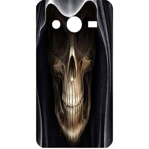 Casotec Devil Skull Design Hard Back Case Cover for Samsung Galaxy Core 2 G355H