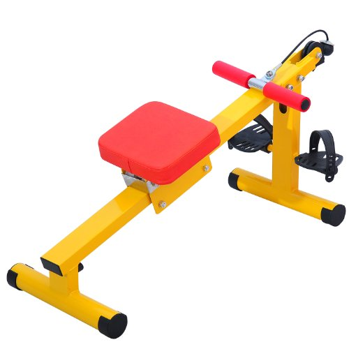 Qaba Lil' Exerciser Fitness Equipment for Kids - Inclined Rower