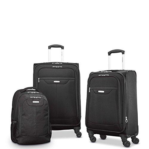 쌤소나이트 Tenacity 러기지 + 백팩 3피스 세트 Samsonite Tenacity 3 Piece Set - Luggage Black Color - Free Shipping