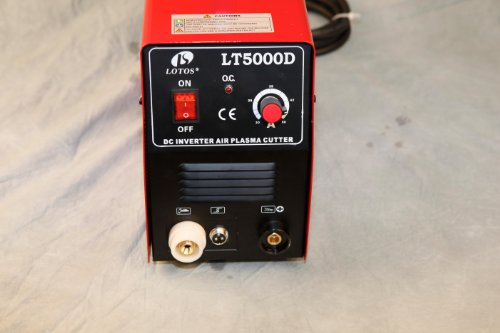 LT5000D 50A Air Inverter Plasma Cutter Dual Voltage 110/220VAC 1/2