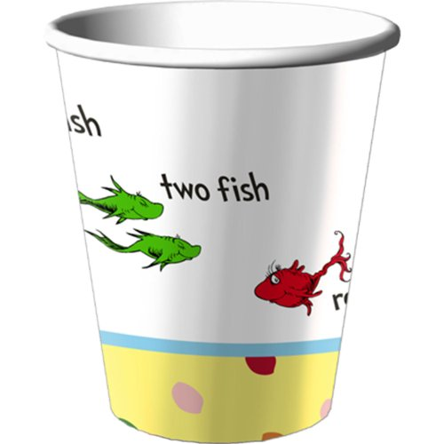 Baby Seuss 9 oz Cups