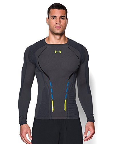 Under Armour Mens UA HeatGear® Armour Seamless Long Sleeve Shirt