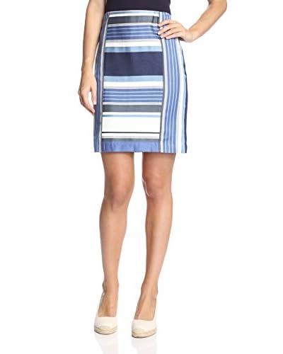 J. McLaughlin Women's Martinique Stripe Skirt