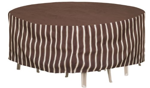 Budge Industries P5A02MB2 Metro 60-Inch Round Table and Chair Combo Cover with 30-Inch Drop