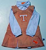 Tennessee Sara Lynn Toggs Infant Gingham Cheer Outfit