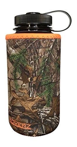 Koverz XL - #1 Neoprene 32-40 oz Water Bottle Insulator Cooler Coolie - Officially Licensed REALTREE XTRA Camouflage (Kleen Kanteen Insulates compare prices)