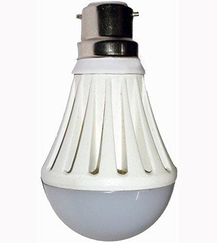 3W B22/E27 LED Bulb (White)