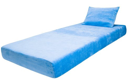 Find Discount 7 Inch Children Memroy Foam Mattress - Blue